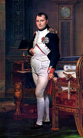 Napoleon, Jacques-Louis David (1748–1825),foto wikipedia