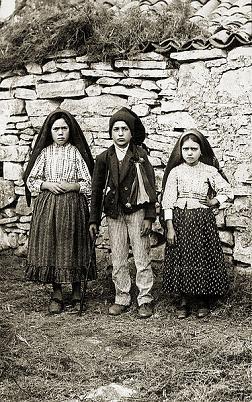 děti z Fatimamy, volné dílo, wikipedia