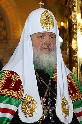 Patriarch Kirill of Moscow, Kremlin.ru, CC BY 4.0, cs.wikipedia.org