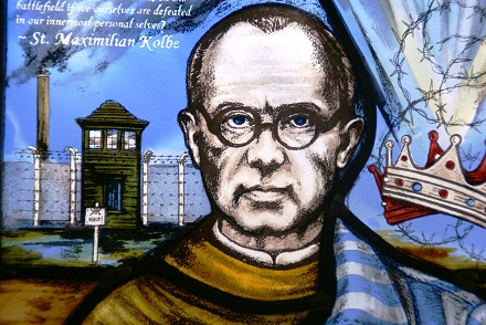 stainedglassartist Follow Saint Maximilian Kolbe, CC BY-NC 2.0, flickr.