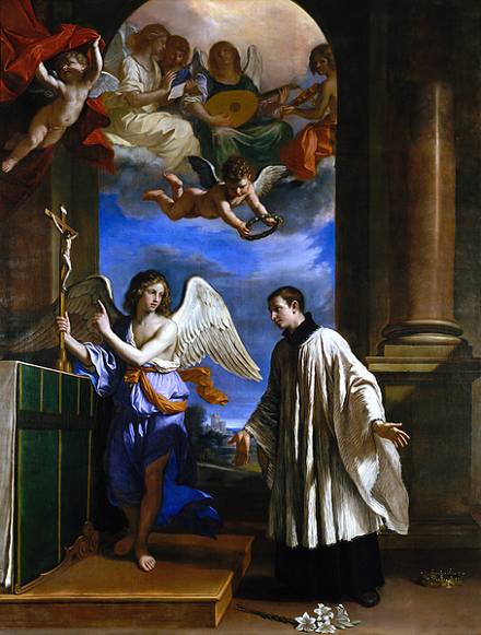 The Vocation of Saint Aloysius Gonzaga, public domain, commons.wikimedia.org