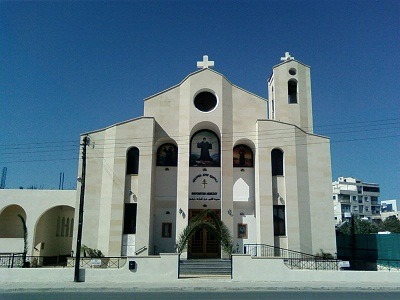 St.Charbel_Maronite_Catholic_Church-limassol, Kypr, Scmcl, CC BY-SA 3.0