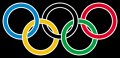 Olympic rings with white rims.svg, volné dílo